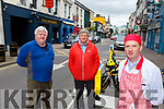 Jerome Corkery Corkery's bar, Tadhg O'Connor O'Connor's bar and Denis Cronin Cronins butchers who are that parking spaces won't be removed from High Street