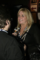 Nathalie Simard with<br /> ex and actual members of Star Academie in Montreal , Febreuary 23rd 2006<br /> photo : (c) by JP Proulx - Images Distribution