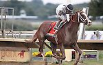 September 21, 2013.  Will Take Charge, trained by D. Wayne Lukas and ridden by Luis Saez, wins the Pennsylvania Derby at  Parx Racing, Bensalem, PA.  ©Joan Fairman Kanes/Eclipse Sportswire