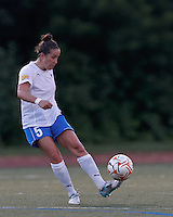 In a Women's Premier Soccer League Elite (WPSL) match, the Boston Breakers defeated New York Fury, 2-0, at Dilboy Stadium on June 23, 2012.