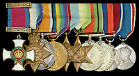 Bismarck cheese on toast bravery medals