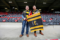 Photo: Richard Lane/Richard Lane Photography. Toulouse v Wasps.  European Rugby Champions Cup. 15/12/2018. Wasps supporters.