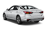 Car pictures of rear three quarter view of a 2020 Nissan Altima SL 4 Door Sedan angular rear