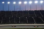 #11: Denny Hamlin, Joe Gibbs Racing, Toyota Camry FedEx Freight and #88: Alex Bowman, Hendrick Motorsports, Chevrolet Camaro Axalta