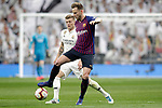 Real Madrid CF's Toni Kroos and FC Barcelona's Ivan Rakitic during La Liga match. March 02,2019. (ALTERPHOTOS/Alconada)