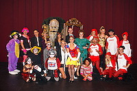 Cast photo of the  British National Theatre of America's production of 'Snow White and the Seven Dwarfs' on the campus of CSN in Las Vegas, NV.