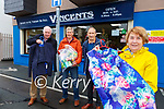 Society of St Vincent de Paul Killarney l-r: Marcus Tracey, Mike Riordan Social Housing, Teddy Bowler President of Conferance and Breda Dwyer Area President who are welcoming any donations