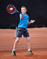 08-08-13, Netherlands, Rotterdam,  TV Victoria, Tennis, NJK 2013, National Junior Tennis Championships 2013,    Lars Kuipers<br /> <br /> <br /> Photo: Henk Koster