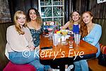 Enjoying the evening in Molly J's on Thursday, l to r: Roisin O'Connell, Emma Sheehy, Ciara Drinan and Alex O'Sullivan.
