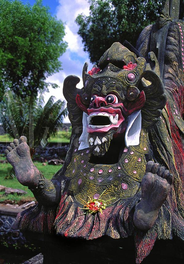Water Palace sculpture Tirtagangga Bali Indonesia.