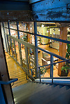 Interior view of the Ecotrust Building in the Pearl District, Portland, OR.