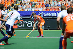 The Hague, Netherlands, June 13: Sander de Wijn #23 of The Netherlands looks to pass during the field hockey semi-final match (Men) between The Netherlands and England on June 13, 2014 during the World Cup 2014 at Kyocera Stadium in The Hague, Netherlands. Final score 1-0 (1-0)  (Photo by Dirk Markgraf / www.265-images.com) *** Local caption ***