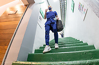 , MEXICO - : U-23 USMNT players make they're way to the locker room during a game between  and undefined at  on ,  in , Mexico.