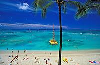 Beach at Waikiki
