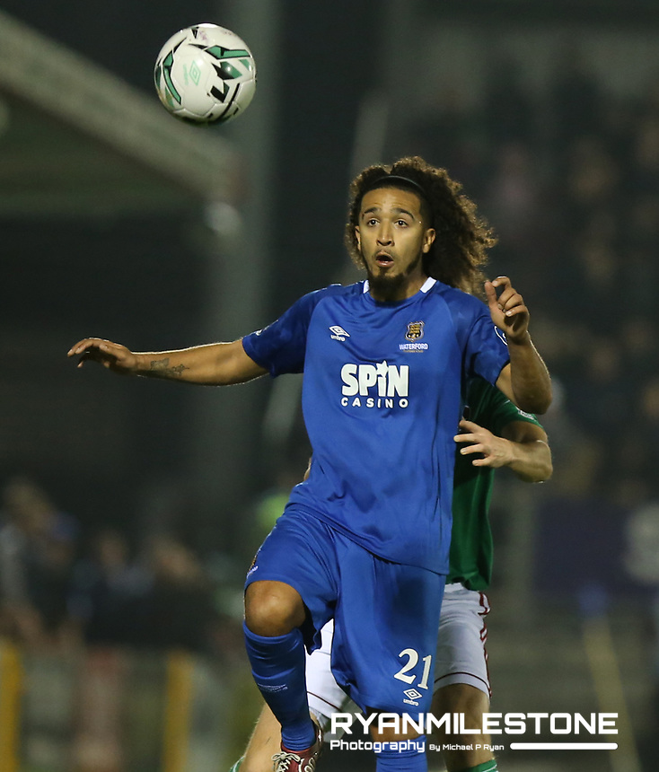 SSE Airtricity League Premier Division,<br /> Cork City vs Waterford FC<br /> Friday 22nd February 2019,<br /> Turners Cross, Co Cork.<br /> Bastien Hery of Waterford<br /> Mandatory Credit: Michael P Ryan