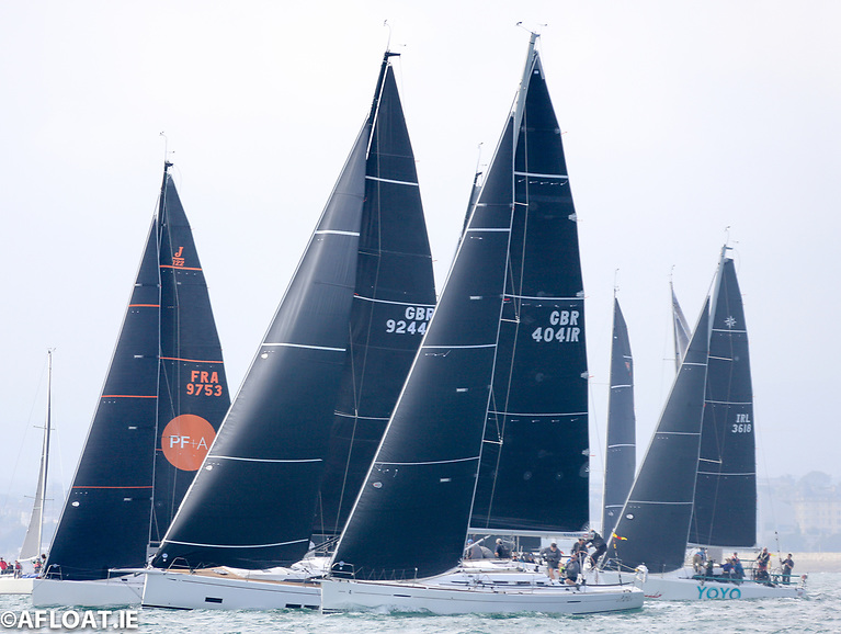 Another great start for Kaya in the ICRA big boat class but spare a thought for smaller Class Zero competitors such as second-row Yoyo, the Sunfast 3600, some 10 feet smaller than some competitors