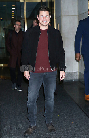 NEW YORK, NY- October 30: Nick Lachey at NBC's  Today Show promoting the Nickelodeon game show, 'America's Most Musical Family' in New York City on October 30, 2019. Credit: RW/MediaPunch