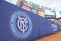 BRONX, NY - Sunday, March 15, 2015: Expansion team New York City FC defeats the New England Revolution 2-0 in their first ever home game at Yankee Stadium during the MLS regular season.