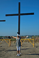 Easter Celebration Good Friday Crucifiction, San Fernando, Pampanga, Philippines