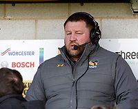 Photo: Richard Lane/Richard Lane Photography. Worcester Warriors v Wasps. Gallagher Premiership. 03/02/2019. Wasps' DOR, Dai Young.