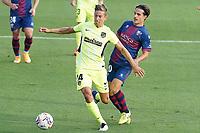 SD Huesca's Jaime Seoane (r) and Atletico de Madrid's Marcos Llorente during La Liga match. September 30,2020. (ALTERPHOTOS/Acero)<br /> Liga Spagna 2020/2021 <br /> Huesca Vs Atletico Madrid <br /> Photo Acero/Alterphotos / Insidefoto <br /> ITALY ONLY