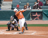 NCAA Baseball featuring the Texas Longhorns against the Missouri Tigers. Loy, Brandon 5024  at the 2010 Astros College Classic in Houston's Minute Maid Park on Sunday, March 7th, 2010. Photo by Andrew Woolley