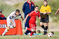 2010 US Soccer Development Academy Winter Showcase U17/18 Real Salt Lake AZ vs DallasTexans at Reach 11 Soccer Complex in Phoenix, Arizona in December of  2010.
