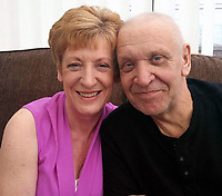 Pictured: Caroline Hannigan (L) with unknown man, image found on her open social media account.<br /> Re: Teaching assistant Caroline Hannigan stole money that was raised at Glanhowy Primary School for charity,  to pay off her son's drug debt, a disciplinary hearing has been told.<br /> Hannigan collected £287 for the British Heart Foundation in Tredegar, south Wales in February 2015.<br /> She used the cash to pay off a drug dealer after her son was threatened.<br /> A fitness to practise committee in Cardiff is considering her case.<br /> Ms Hannigan has worked at the school in various roles for 23 years.<br /> She was given a 12-month conditional discharge after admitting theft by an employee at Caerphilly Magistrates' Court in February 2016.