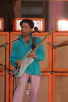 NEW YORK - JUNE 16: Musician Prince performs onstage with Tamar aka Tamar Davis on Good Morning America on June 16, 2006 in New York, New York<br /> <br /> <br /> People:  Prince<br /> <br /> Transmission Ref:  MNC1<br /> <br /> Must call if interested<br /> Michael Storms<br /> Storms Media Group Inc.<br /> 305-632-3400 - Cell<br /> 305-513-5783 - Fax<br /> MikeStorm@aol.com<br /> www.StormsMediaGroup.com