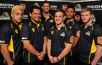 140811 ITM Cup Rugby - Wellington Lions Season Launch