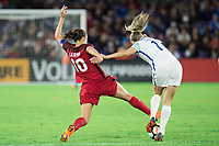 Orlando, FL - Wednesday March 07, 2018: Carli Lloyd during the She Believes Final Cup Match featuring USA Women's National Team vs. Englands Women's National Team