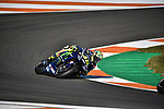 Free practice in a championship of motorcycling GP of Valencia in Spain 2017 in Ricardo Tormo Circuit. Day One.