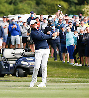 2nd July 2021; Mount Juliet Golf Club, Kilkenny, Ireland; Dubai Duty Free Irish Open Golf, Day Two; Rory Mcilroy of Northern Ireland plays his third shot from the 16th fairway