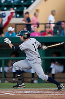 Jack Rye (12) of the Tampa Yankees during a game vs. the Lakeland Flying Tigers May 15 2010 at Joker Marchant Stadium in Lakeland, Florida. Tampa won the game against Lakeland by the score of 2-1.  Photo By Scott Jontes/Four Seam Images