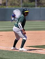 Jordan Diaz - Oakland Athletics 2021 spring training (Bill Mitchell)