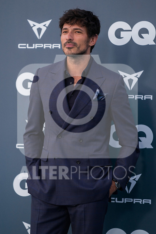 Model Andres Velencoso during the photocall of 25th aniversary of GQ magazine party. July 9, 2018. (ALTERPHOTOS/Francis Gonzalez)