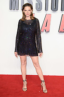 """Rebecca Ferguson<br /> arriving for the """"Mission: Impossible Fallout"""" premiere at the BFI IMAX South Bank, London<br /> <br /> ©Ash Knotek  D3414  13/07/2018"""