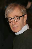 """Woody Allen arriving at the opening night of The Roundabout Theatre Company's production of """"Twentieth Century"""" at The American Airlines Theatre in New York City on March 25, 2004.  Photo Credit: Henry McGee/MediaPunch"""