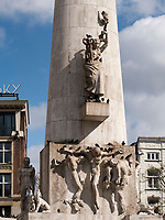 Nationaal Monument auf dem Dam, Amsterdam, Provinz Nordholland, Niederlande<br /> national Monument at Dam, Amsterdam, Province North Holland, Netherlands
