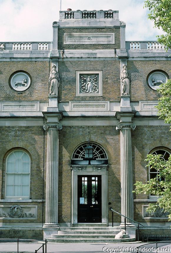 Sir John Soane: Pitshanger Manor, London 1800. Soane rebuilt for own use. Photo '87.