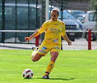 Supercup seizoen 2011 - 2012 ; Kampioen Standard Femina tegen Bekerwinnaar Waasland Beveren Sinaai Girls : Lim De Vetter.foto DAVID CATRY / Vrouwenteam.be