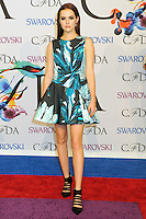 NEW YORK CITY, NY, USA - JUNE 02: Zoey Deutch arrives at the 2014 CFDA Fashion Awards held at Alice Tully Hall, Lincoln Center on June 2, 2014 in New York City, New York, United States. (Photo by Celebrity Monitor)