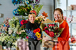 Back in business! Szczupa Czynska and Elenor Groves at work at Elenors florists north circular road, Tralee on Tuesday.