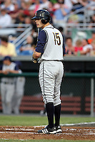 June 26th 2008:  David Rubinstein of the State College Spikes, Class-A affiliate of the Pittsburgh Pirates, during a game at Falcon Park in Auburn, NY.  Photo by:  Mike Janes/Four Seam Images