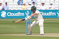 Steven Mullaney of Nottinghamshire hits 4 runs during Essex CCC vs Nottinghamshire CCC, LV Insurance County Championship Group 1 Cricket at The Cloudfm County Ground on 3rd June 2021