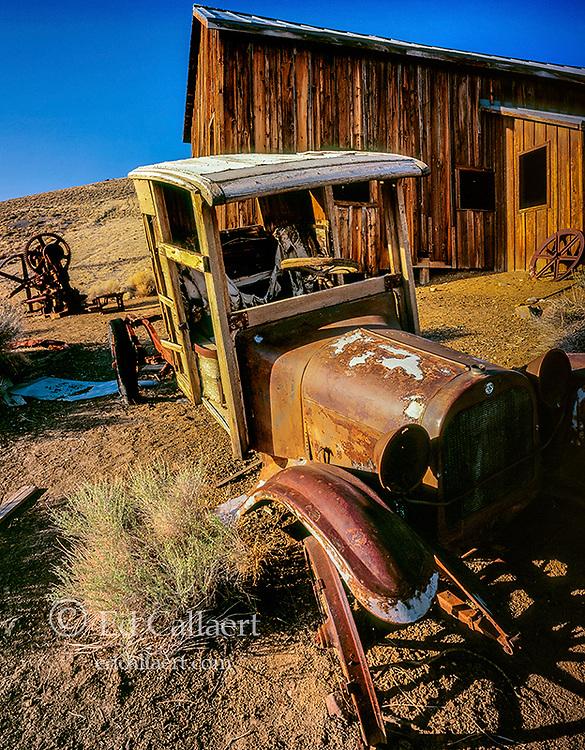 Abandoned Dodge Pickup, Berlin–Ichthyosaur State Park ,Nevada