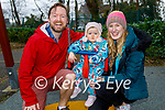 Enjoying the playground in the Killarney National park on Sunday, l to r: Ryan, Saoirse and Julie Say.
