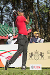 Chawalit Plaphol of Thailand tees off the 18th hole during the 58th UBS Hong Kong Golf Open as part of the European Tour on 08 December 2016, at the Hong Kong Golf Club, Fanling, Hong Kong, China. Photo by Vivek Prakash / Power Sport Images