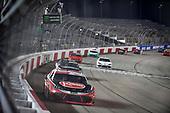 #20: Christopher Bell, Joe Gibbs Racing, Toyota Supra Rheem takes the checkered flag
