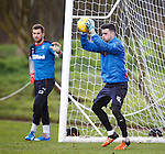 Liam Kelly watched by Cammy Bell